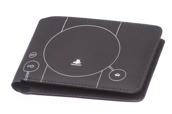 PlayStation Console Blue Print Geldb�rse Englisch