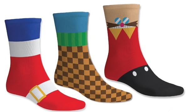 Numskull Sonic the Hedgehog Socks 3 pairs 39-46