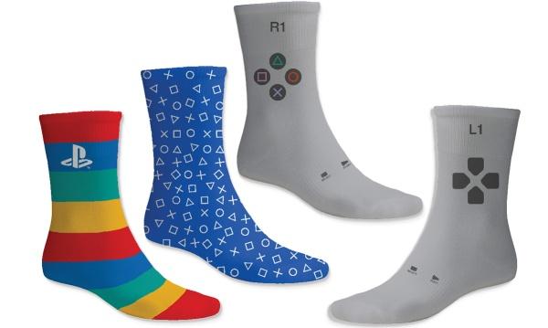 PlayStation Socken (3 paar, 39-46) Englisch