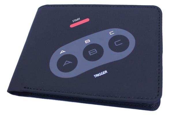 Mega Drive Controller Geldbörse Englisch