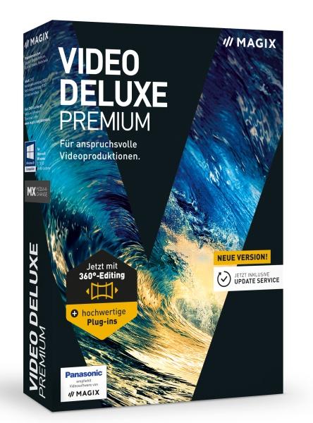 MAGIX Video deluxe Premium 2017