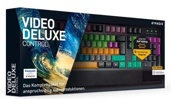 MAGIX Video deluxe Control 2017