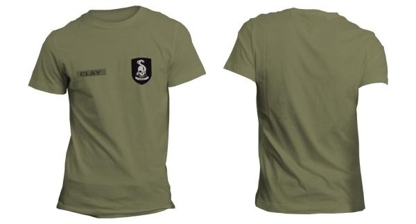 Mafia III 223rd Infantry Green T-Shirt XL Englisch
