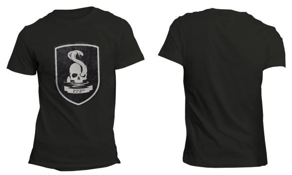 Mafia III 223rd Infantry Black T-Shirt S Englisch