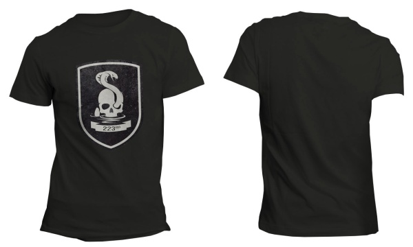 Mafia III 223rd Infantry Black T-Shirt M Englisch
