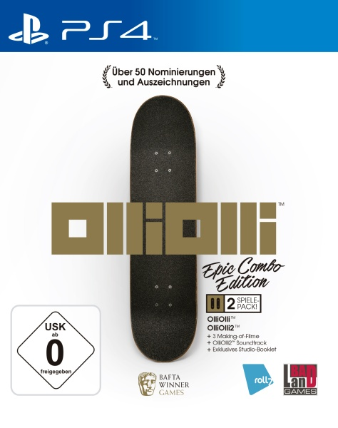 OlliOlli: Epic Combo Edition (PS4)