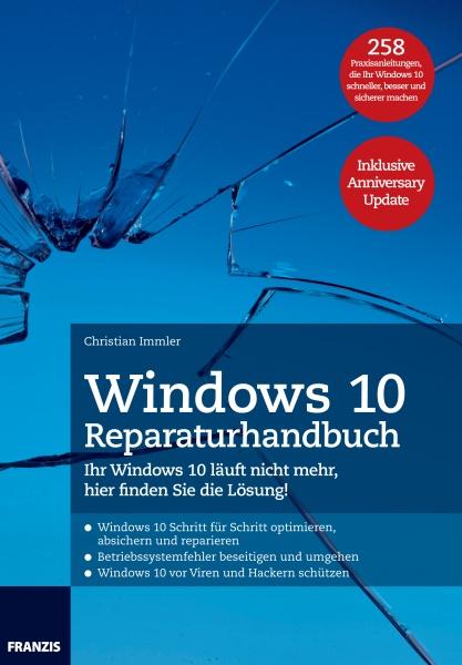 Franzis Verlag Windows 10 Reparaturhandbuch