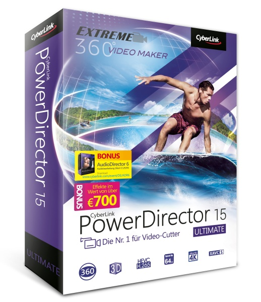 PowerDirector 15 Ultimate