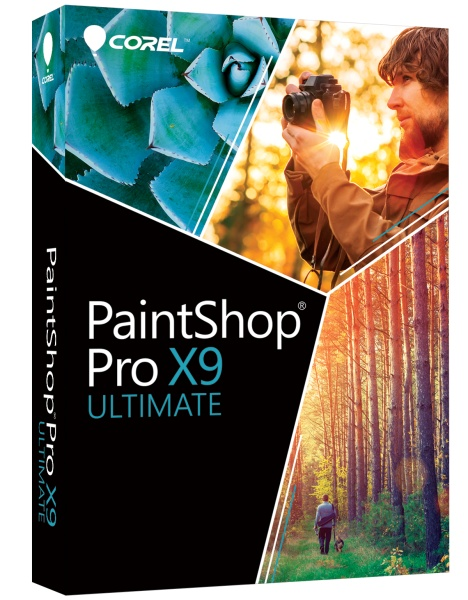 COREL PaintShop Pro X9 Ultimate Mini-Box (DE)