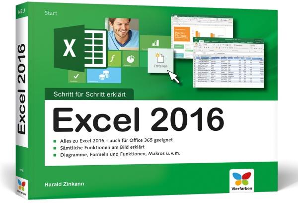 Excel 2016 Schritt für Schritt erklärt