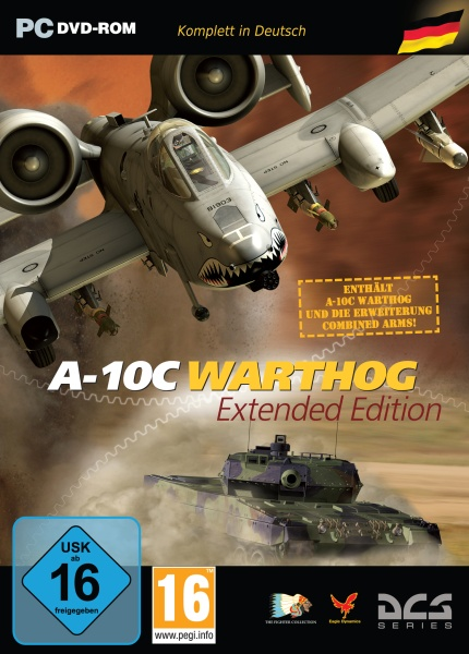 DCS: A-10C Warthog Extended Edition (PC) Englisch