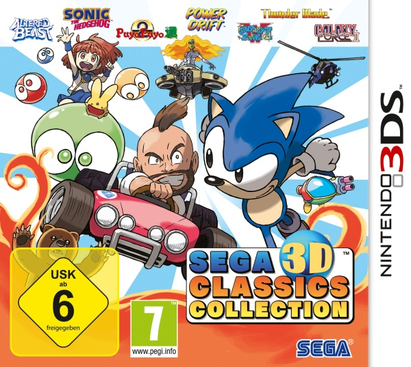 Sega 3D Classics Collection (3DS) Englisch