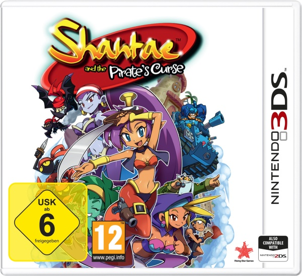Shantae and the Pirates Curse (3DS) Englisch
