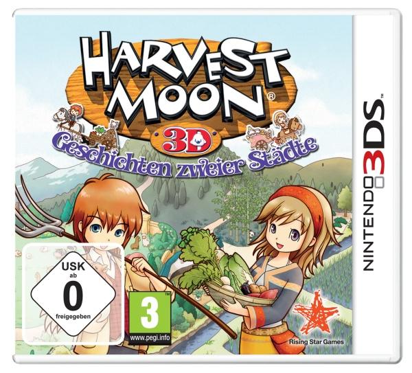 Rising Star Harvest Moon 3D Geschichten zweier Städte 3DS - Nintendo 3DS - Adventure