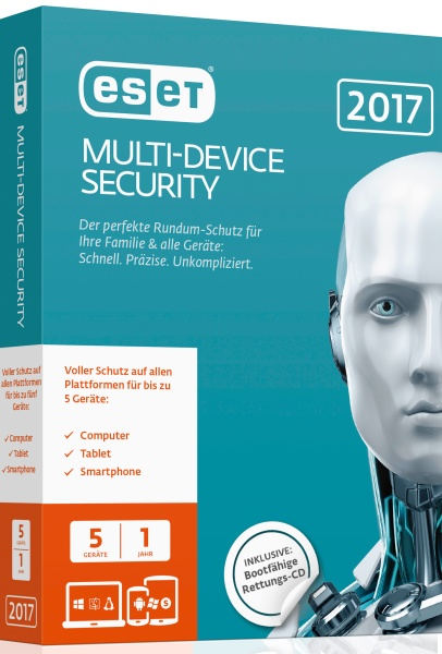 ESET Multi-Device Security 2017 Edition 5 User Box