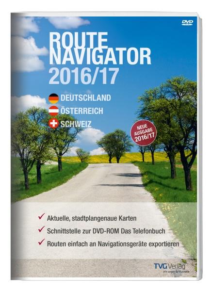 RouteNavigator DACH 2016/17