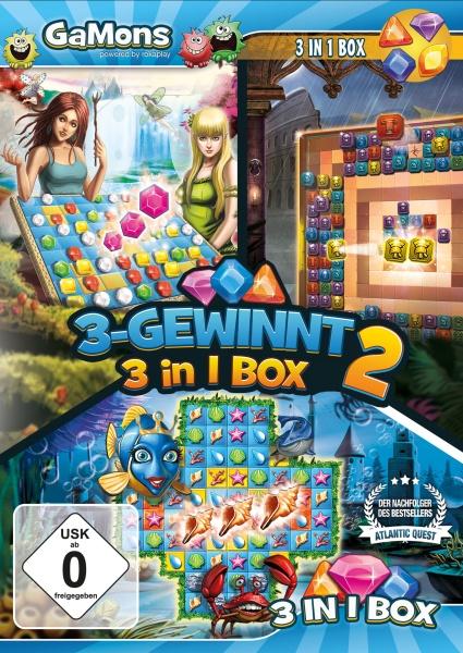 GaMons - 3-Gewinnt 3 in 1 Box 2 (PC)