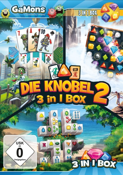 GaMons - Die Knobel 3 in 1 Box 2 (PC)