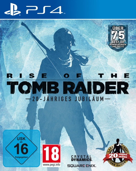 Square Enix Rise of the Tomb Raider 20-Jähriges Jubiläum (PS4)