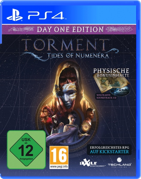 Torment: Tides of Numenera Day One Edition (PS4)
