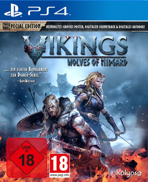 Kalypso Vikings - Wolves of Midgard - PlayStation 4 - Action