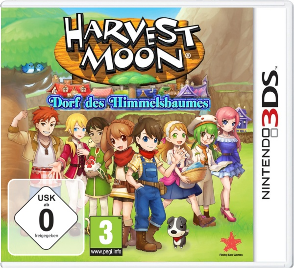 Rising Star Harvest Moon Dorf des Himmelsbaumes - Nintendo 3DS - Adventure