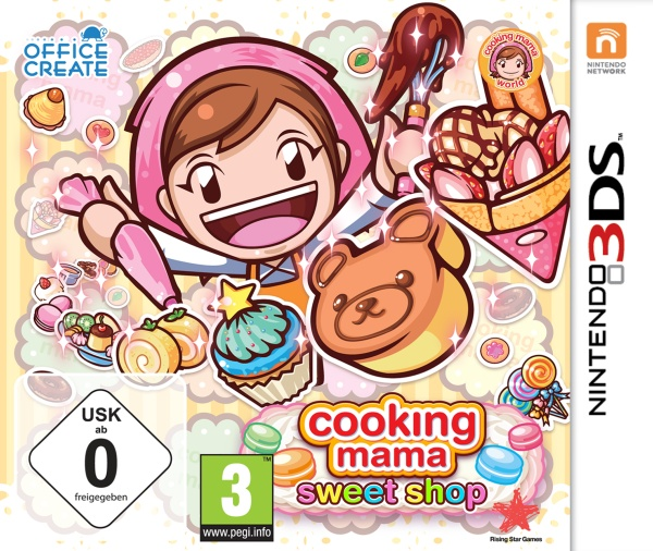 Rising Star Cooking Mama - Sweet Shop! - Nintendo 3DS - Adventure