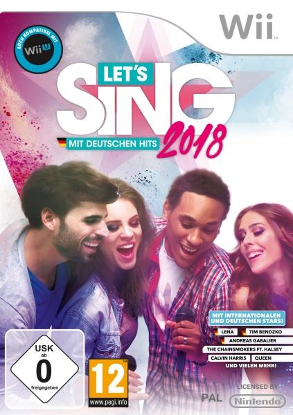 KOCH Media Let\s Sing 2018 mit Deutschen Hits (Wii)