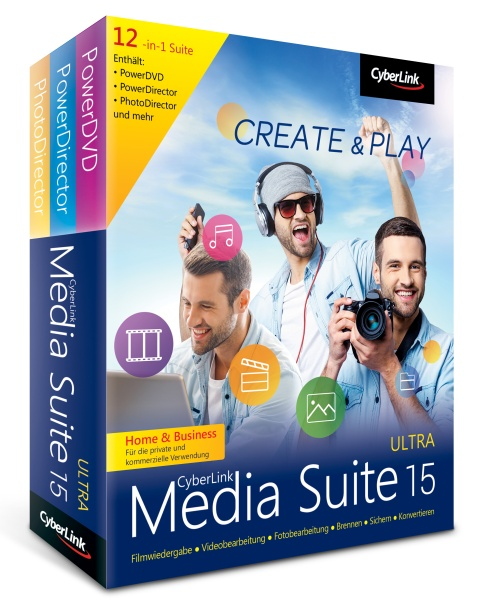 CyberLink Media Suite 15 Ultra Home & Business
