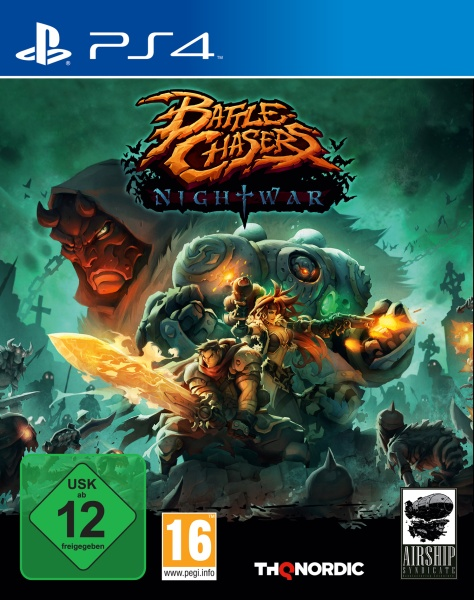 THQ Battle Chasers: Nightwar (PS4)