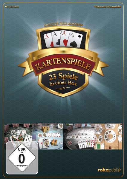 rokapublish Kartenspiele 23 in 1 Deluxe Box Edition PC