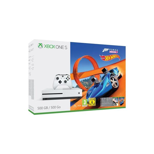 Microsoft MS Xbox One S 500GB FH3 Hot Wheels Bundle