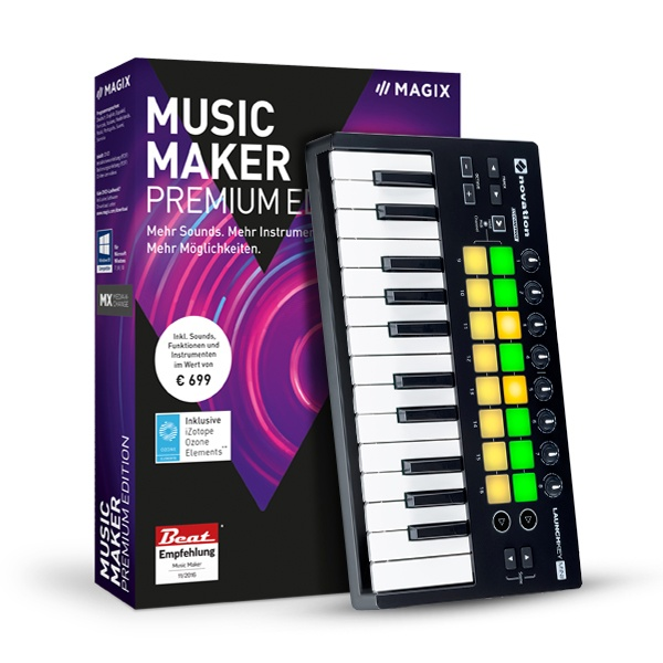 MAGIX Music Maker Performer Edition