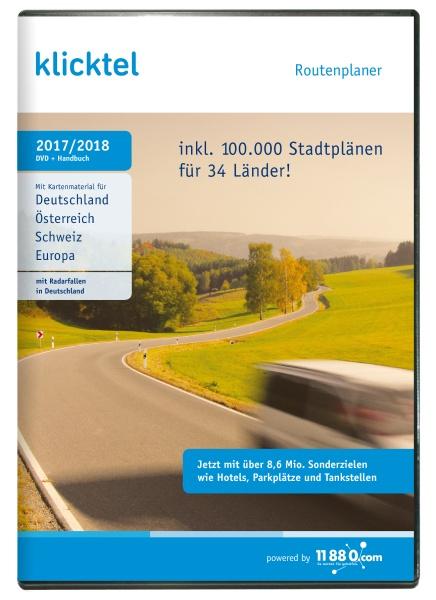 klickTel Routenplaner 2017/2018