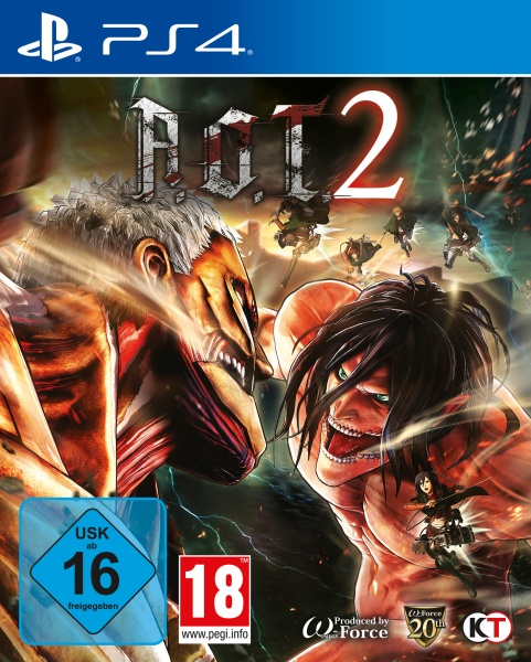 AoT 2 (based on Attack on Titan) (PS4)