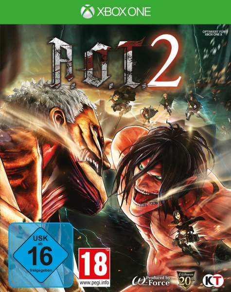 AoT 2 (based on Attack on Titan) (XONE)