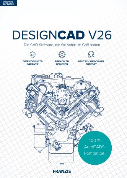 Franzis Verlag DesignCAD V26