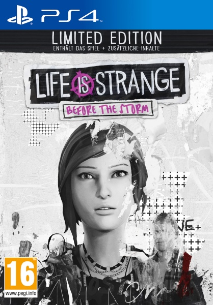 Square Enix Life is Strange Before the Storm Limited Edition (PS4)