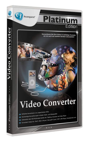 Avanquest Platinum Edition - Avanquest Video Converter