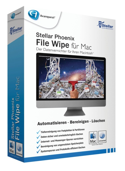 Stellar File Wipe f�r Mac